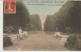 C. P.A. - CHÂTEAU DE BREVANNES - ALLÉE PRINCIPALE DU PARC - - France