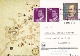 España Sobre Nº 3026 Tarjeta - 1931-Hoy: 2ª República - ... Juan Carlos I
