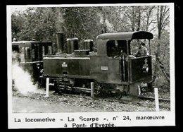 1975 --  LA LOCOMOTIVE LA SCARPE EN MANOEUVRE A PONT D EREZEE  3R721 - Zonder Classificatie