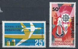 Centrafrique YT PA 38 + 42 XX / MNH - República Centroafricana