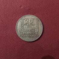 - Monnaies Argent - 10 Francs Turin - Rameaux Longs -  Pièces De 1933  - état TB - - Frankreich