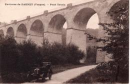 CPA 88  VOSGES - Environs De DARNEY  -  Pont Tatale -  Beau Plan Avec Voiture - France