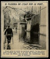 1951 --  LES RUES D AVIGNON ENVAHIES PAR L EAU  3R723 - Zonder Classificatie