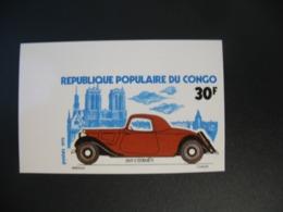 Timbre ND non Dentelé Neuf ** MNH - Imperf  Voitures  Citroën Congo  N° 377 - Voitures