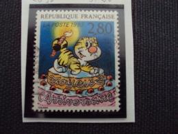"""1990-99 Timbre Oblitéré N° 2838     """"  Plaisir D'écrire: Colman       """"    Net   0.20 - Used Stamps"""