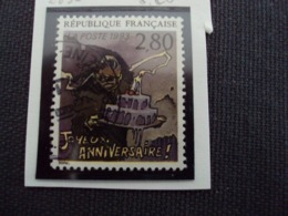 """1990-99 Timbre Oblitéré N° 2839     """"  Plaisir D'écrire: Sorel       """"    Net     0.20 - Used Stamps"""