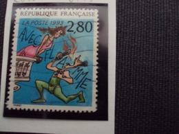 """1990-99 Timbre Oblitéré N°2840     """"  Plaisir D'écrire: Thiriet       """"    Net     0.15 - Used Stamps"""