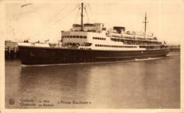 OSTENDE LA MALLE PRINCE BAUDOUIN  Orion, Orient Line. CARGO SHIP - Paquebote