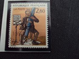 """1990-99 Timbre Oblitéré N°2841      """"  Plaisir D'écrire: Davodeau       """"    Net    0.30 - Used Stamps"""