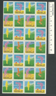 B56-39 CANADA 1974 Crippled Children Easter Seals Sheet MNH - Local, Strike, Seals & Cinderellas