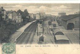 2020 - SEINE - 75 - PARIS - Gare De Belleville - Metro, Stations