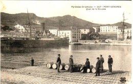 PORT-VENDRES - Quai De La Douane - Port Vendres
