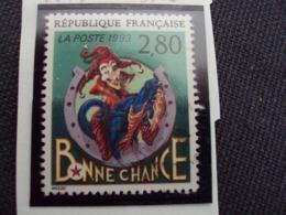 """1990-99 Timbre Oblitéré N° 2843     """"  Plaisir D'écrire:mezzo        """"    Net    0.15 - Used Stamps"""