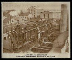 1935  --  RAFFINERIE DE MERKWILLER  3R730 - Zonder Classificatie