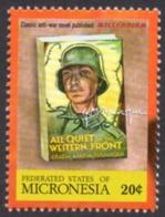 MICRONESIA - Erich Maria Remarque - À L'Ouest, Rien De Nouveau - All Quiet On The Western Front - Famous People