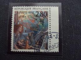 """1990-99 Timbre Oblitéré N° 2845     """"  Plaisir D'écrire: Magnin       """"   Bord De Feuille   Net    0.50    Photo   2 - Used Stamps"""