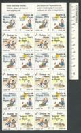 B56-49 CANADA 1987 Crippled Children Easter Seals Sheet MNH - Local, Strike, Seals & Cinderellas