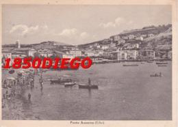 PORTO AZZURO ( ELBA ) F/GRANDE VIAGGIATA 1949 ANIMAZIONE - Livorno