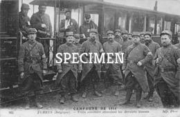 Train Sanitaire Attendant Les Derniers Blessés - Furnes - Veurne - Veurne