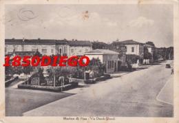 MARINA DI PISA - VIA DUODO DUODI F/GRANDE VIAGGIATA 1950 ANIMATA - Pisa
