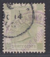 Hong Kong - 1882-1902 - 30c Yv.44 - Used - Hong Kong (...-1997)