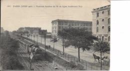 75018 : Paris  : Nouveau Bastion  Du 76e  De Ligne  : Boulevard Ney . - Distretto: 18