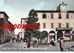 COLLE VAL D' ELSA - VIA MAZZINI F/GRANDE VIAGGIATA 1961 ANIMATA - Siena
