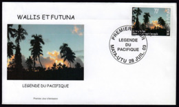 """Wallis & Futuna 2003 / Legends Of The Pacific - """"How The Eel Gave Birth To A Coconut"""" - Covers & Documents"""