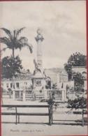 Bresil Brazil Brasil Brazilie Maceio Estatua De D Dom Pedro II Alagoas RARE Postcard Reclame Gent Gand Fabrique Coupure - Maceió