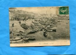 MARSEILLE-L'ESTAQUE-- Le Port De Pêche--barques Remontées-la Promenade- A Voyagé En1910-éditon Lacour - Quartiers Nord, Le Merlan, Saint Antoine