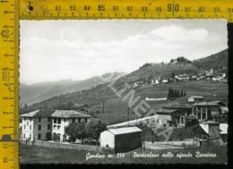 Bergamo Gandino Sullo Sfondo Barzizza - Bergamo