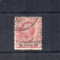 Italia - Regno - 1909 - Uffici Postali All'Estero - Costantinopoli - 20 Para - Usato - (FDC18409) - 11. Auslandsämter