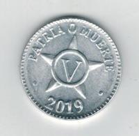 Cuba 5 Centavos MN, 2019, XF. - Cuba
