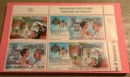 SMOM CONGIUNTA SAN MARINO 2006 OPERE ASSISTENZIALI - INTEGRI - Sovrano Militare Ordine Di Malta