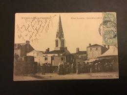 NUEIL LES AUBIERS - Fête Locale - Octobre 1903 - Francia