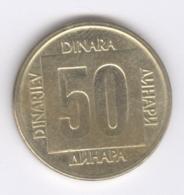 YUGOSLAVIA 1988: 50 Dinara, KM 133 - Yugoslavia