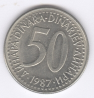 YUGOSLAVIA 1987: 50 Dinara, KM 113 - Jugoslawien