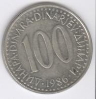 YUGOSLAVIA 1986: 100 Dinara, KM 114 - Yugoslavia