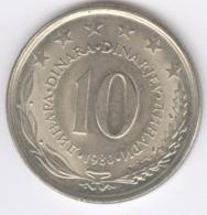 YUGOSLAVIA 1980: 10 Dinara, KM 62 - Yugoslavia