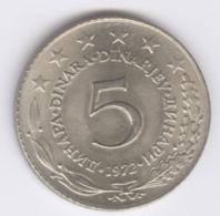 YUGOSLAVIA 1972: 5 Dinara, KM 58 - Yugoslavia