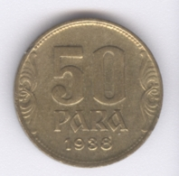 YUGOSLAVIA 1938: 50 Para, KM 18 - Jugoslawien
