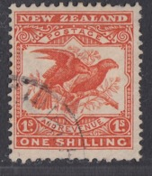 New Zealand - 1907-09 - 1sh Yv.132 - Used - 1855-1907 Crown Colony
