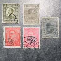 Yugoslavia  STAMPS   1921-->26  USED  ~~L@@K~~ - 1919-1929 Royaume Des Serbes, Croates & Slovènes