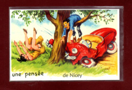 21-CARTE POSTALE DE NICEY - France