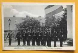 NEW - LUXEMBOURG - Compagnie Volontaires Armée Soldats Freiwilligen Kompagnie Troupe 1900 Gendarme Frontière Kuschmann - Luxemburg - Town