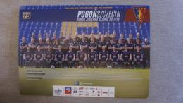 Pogon Szczecin Postcard - Fussball