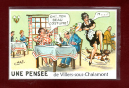 25-CARTE POSTALE DE VILLERS SOUS CHALAMONT - Sonstige Gemeinden
