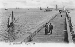 France Cherbourg - La Jetee, Bateaux, Boats CPA - France