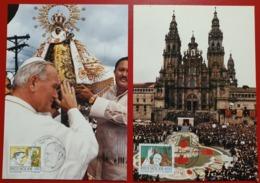 VATICANO VATIKAN VATICAN PHILIPPINES FILLIPINE SPAGNA ESPANA SPAIN SANTIAGO DE COMPOSTELA 1984 - Vaticano (Ciudad Del)