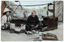 Java, Chineesche Smid En Slotenmaker, Nederlandsch Indie, Uitgave La Riviere U. Voorhoeve Zwolle, Alte Postkarte - Indonesia